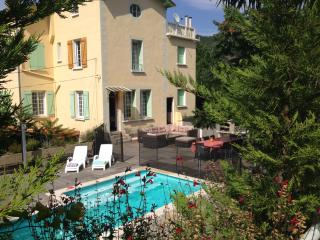 Villa Chez Sun, heated pool, air con, views, Vernet-Les-Bains