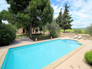 Violes Vaucluse, House 7p. middel of wine yards, private pool