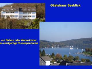 Ferienwohnung Gästehaus Seeblick, Simmerath
