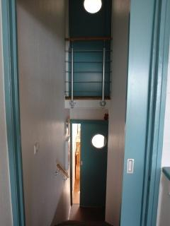 détail escalier intérieur