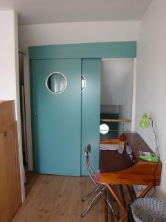 détail portes coulissantes chambre 2