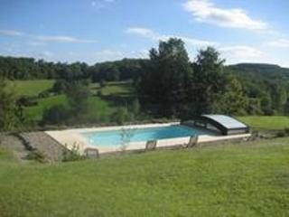 maison a la campagne, piscine privee