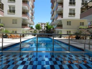 Sitesi Rose 2: balkonlu daire 1 + 1, Antalya