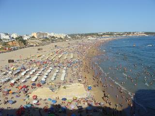 Appart 3 chambres, jardin, proche plage, clim., Ferragudo