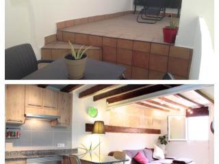 Céntrico apartamento con terraza en Palma