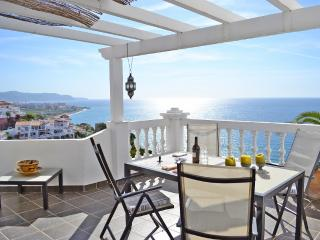 Terraced house with stunning seaview, Nerja