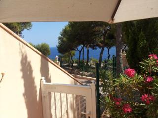 Ibiza bungalow vue mer proche marche hippie/plage, Sant Carles de Peralta