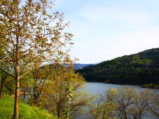 Villa au bord du lac de Villefort
