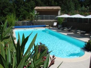 Mas provençal avec piscine 8 à10 p,près Aix-en-Pce, Trets