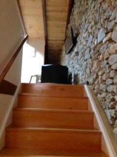 escaleras de acceso ,10 escalones