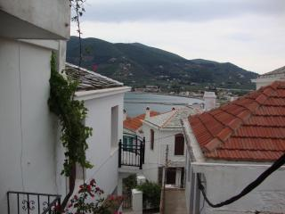 Two stores house in old town of Skopelos