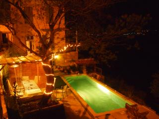 2 pièces gde terrasse piscine vue panoramique mer