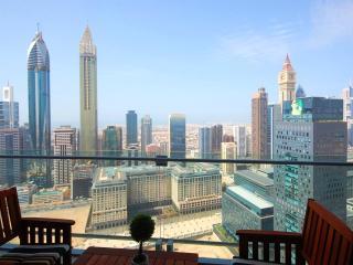 Panoramic Views from this 1 Bed in Burj Daman, Dubai