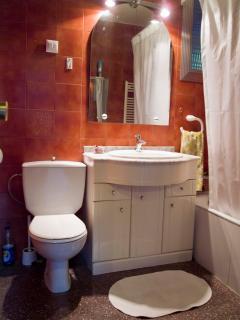 Baño completo, con bañera