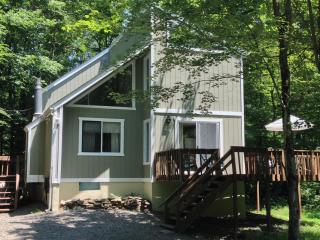 Peaceful Chalet in Arrowhead Lake w/Amenities! ~ Fplc, Fpit, Wifi, Lago Pocono