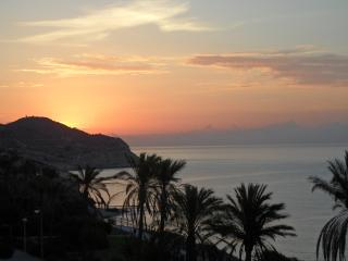 Panoramic seaviews Torres beach Costa Blanca Spain, Villajoyosa