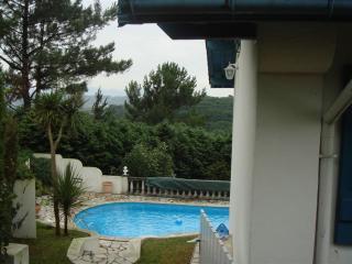 Maison avec jardin, piscine et vue panoramique, Bidart