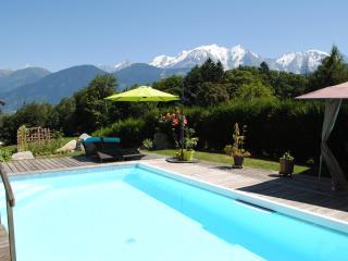 Studio avec piscine vallée de Chamonix, Domancy