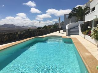 Pool area with stunning panoramic views