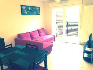 Location appartement meublé T2 à 200m de la plage, Labenne