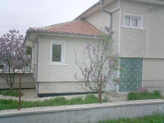 House in village near sea