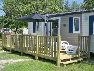 mobil home grand standing, Biscarrosse