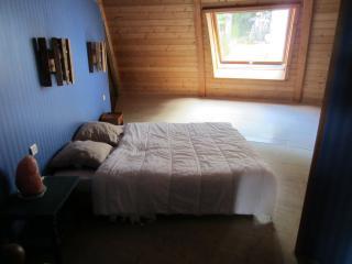 Maison écologique ronde en bois, Morlaix