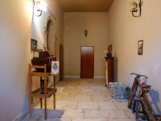 one floor of traditional Sicilian courtyard house