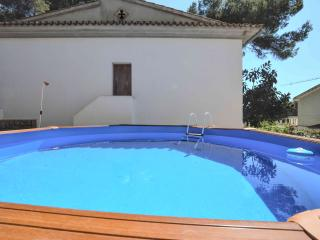 Beach house in El Arenal with pool