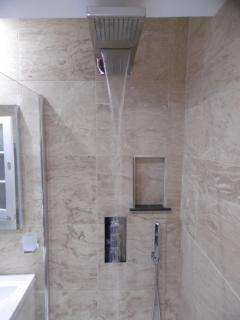 Waterfall shower