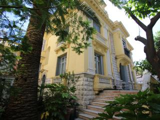 Garden Terrace Apartment in a Historic Villa, Nice