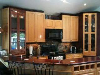 Prepare family meals in the magnificent kitchen