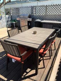 Deck with Barbecue