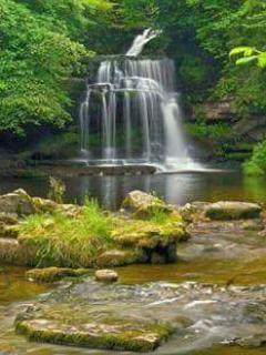 Riverbend waterfall!