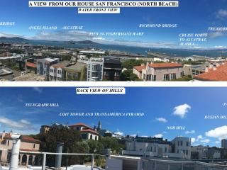3 BR AMAZING BAY VIEWS, DESIRABLE TOURIST  AREA, San Francisco