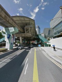 Medan Tuanku Station, 600m
