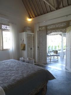 Bedroom 2 Villa Blessings with entrance to the veranda