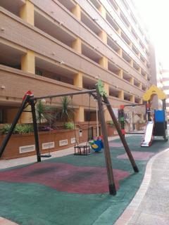 Zona infantil urbanización