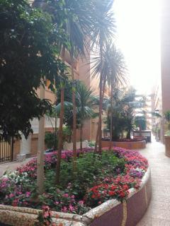 Jardín urbanización