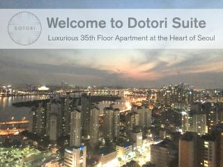 35th Fl. Luxurious Apt in Hongdae/Mapo, Seoul