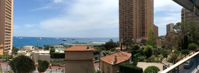 Sea view from the dinning room