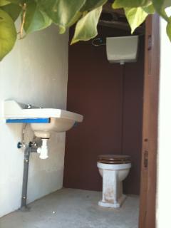 El aseo era el antiguo cuarto de baño de la casa
