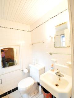 Bathroom With Soaking Tub And Shower