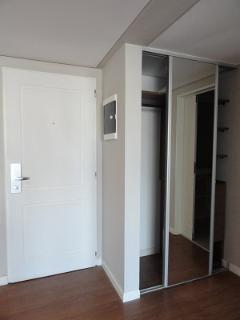 In our unit the closets are empty, waiting for your arrival, because we don't live in our unit!