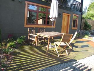 BioBio Suite's private patio