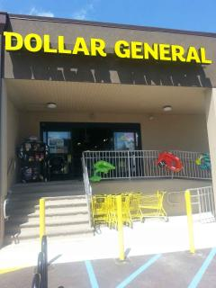 Dollar General - Shopping = Three Blocks