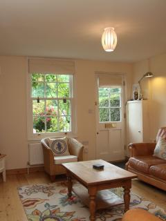 Sitting room in Old Post Cottage