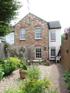Back garden in Old Post Cottage