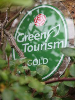 Both cottages awarded the highest possible accolade- Green Tourism Gold