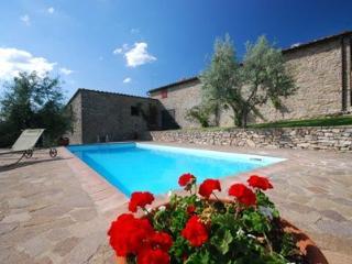 Chianti villa with private pool - Poggione, Gaiole in Chianti